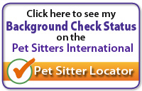 BAckground Check Status by Pet Sitters International